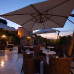 Enjoy roman sunsets from our terraces