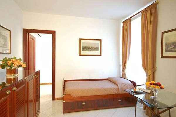 One bedroom Apartment at Hotel Residence Vatican Suites. Direct reservation available using our booking form.